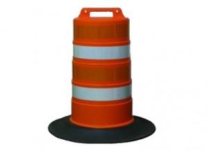 Constuction Zone Traffic Barrel Rental