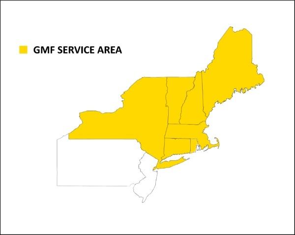 GMF Service Area